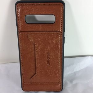 Other - Samsung Galaxy S10 Leather Back